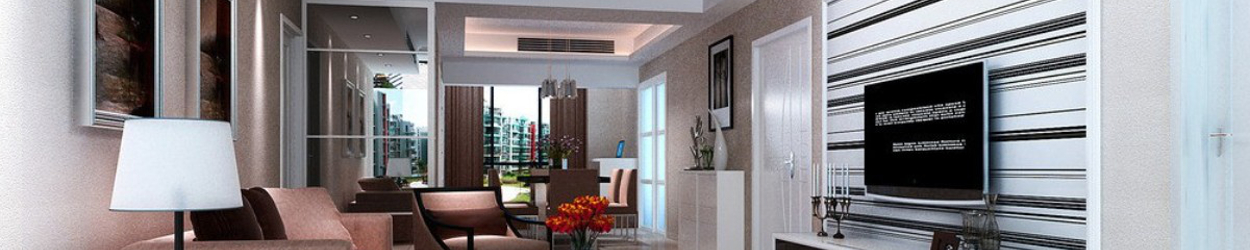 Villa-living-room-with-central-air-conditioning